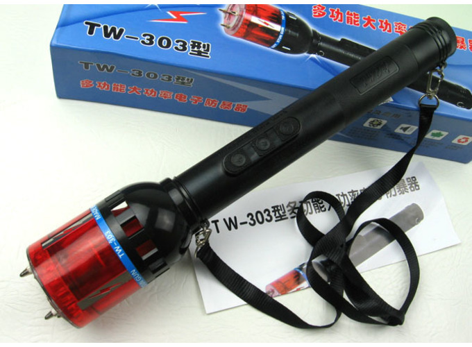 多功能大功率防暴TW-303型电击器