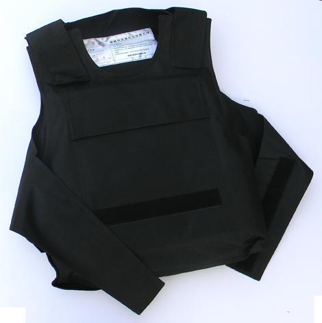 新型警用软质防刺衣-软质防刺服-防刺背心