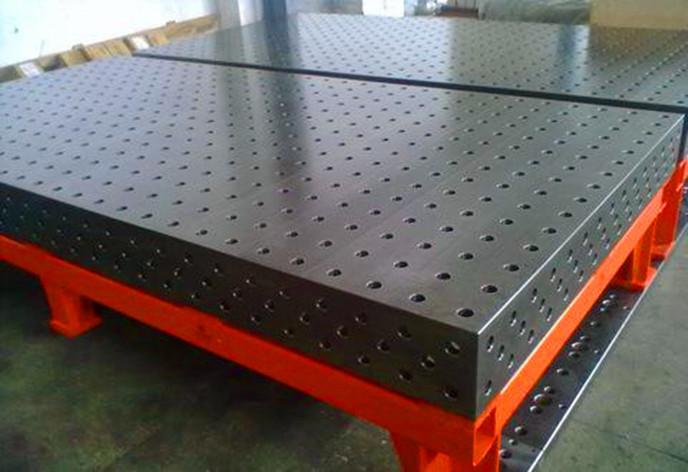 三維柔性焊接平臺實用案例