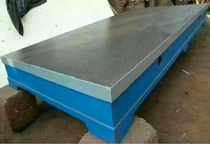 焊接平臺為什么用鑄鐵