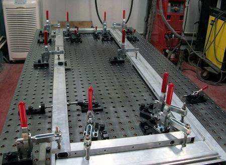 三維柔性焊接平臺鑄鐵