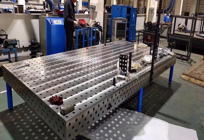 三維柔性焊接平臺平板