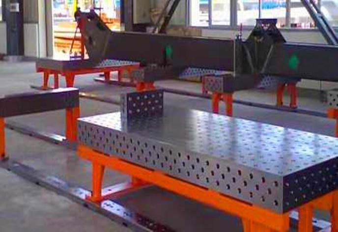 柔性焊接工作臺