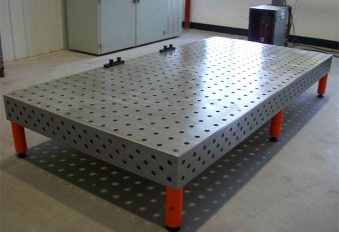 三維柔性焊接工裝平臺