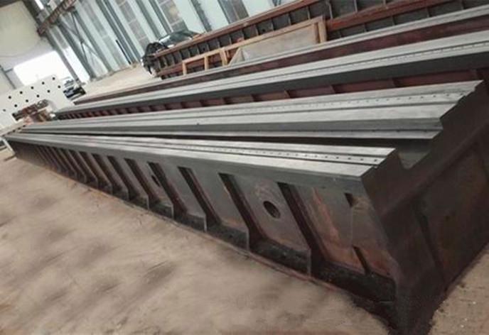 大型機床床身鑄件