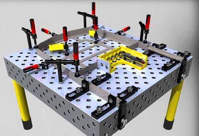 三維焊接平臺夾具