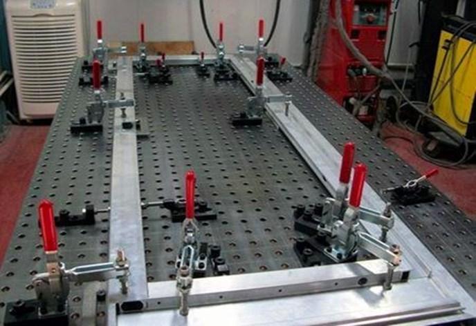三維柔性焊接平臺工裝參數