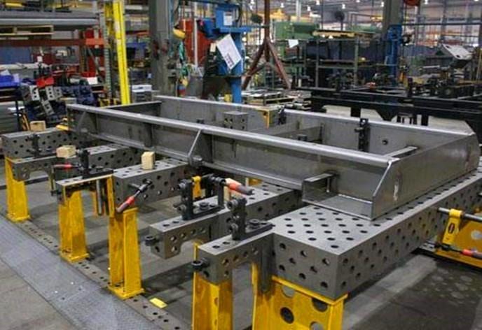 三維柔性焊接平臺功能