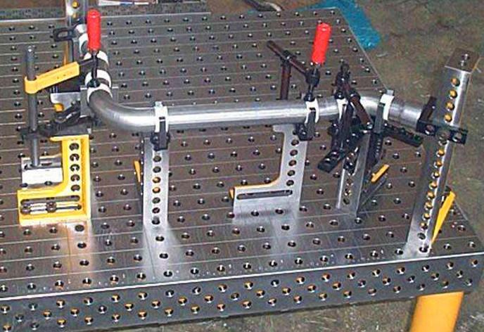 三维柔性焊接平台制造