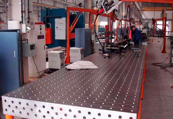大型三维柔性焊接平台