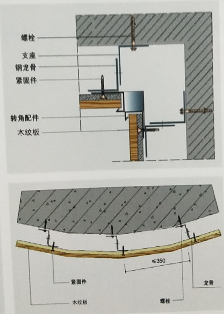 木纹水泥板施工工艺