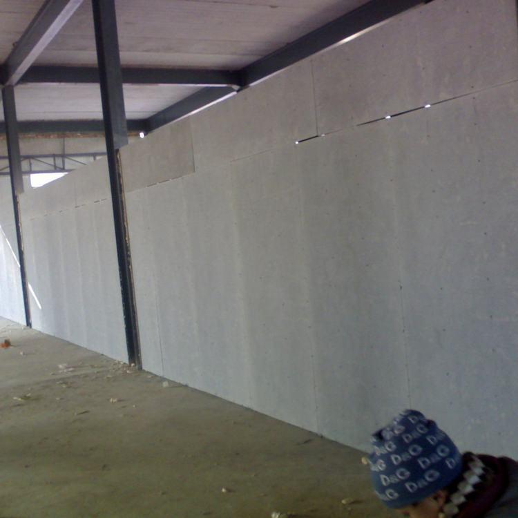 纤维水泥板隔墙灌浆