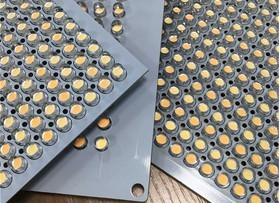 直插5mm双色LED灯灯板---摄影灯配件