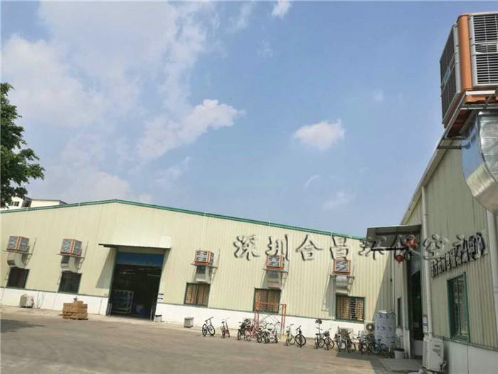 钢结构铁皮屋顶厂房降温方案