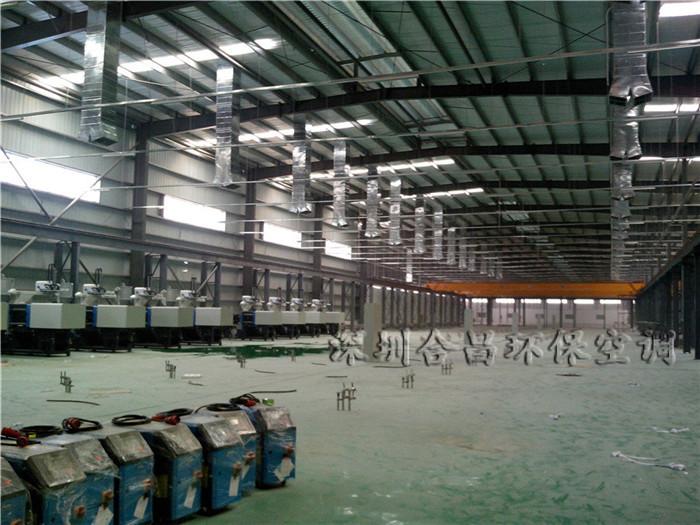 TP-LINK(普联技术)厂房降温工程