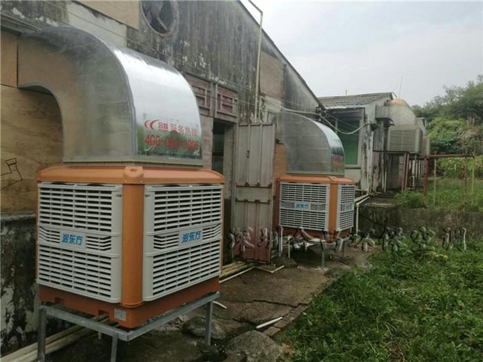 惠州东进农牧-养猪场降温通风工程