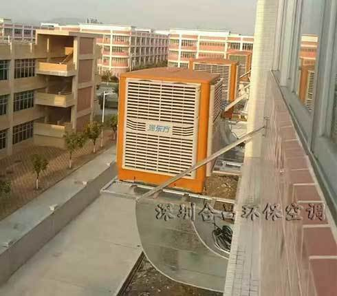 玩具厂厂房降温选润东方环保空调
