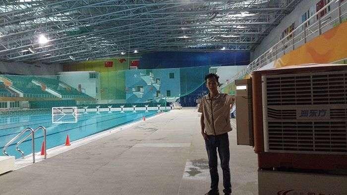 广州奥林匹克游泳馆降温案例
