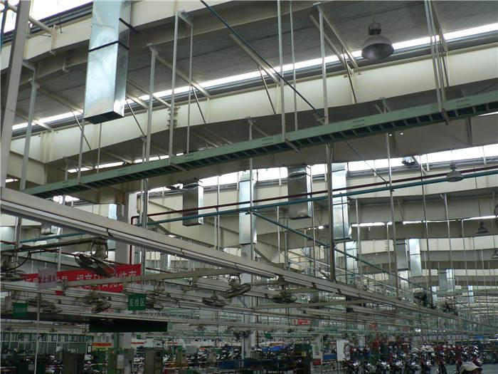五羊-本田摩托車廠房降溫案例