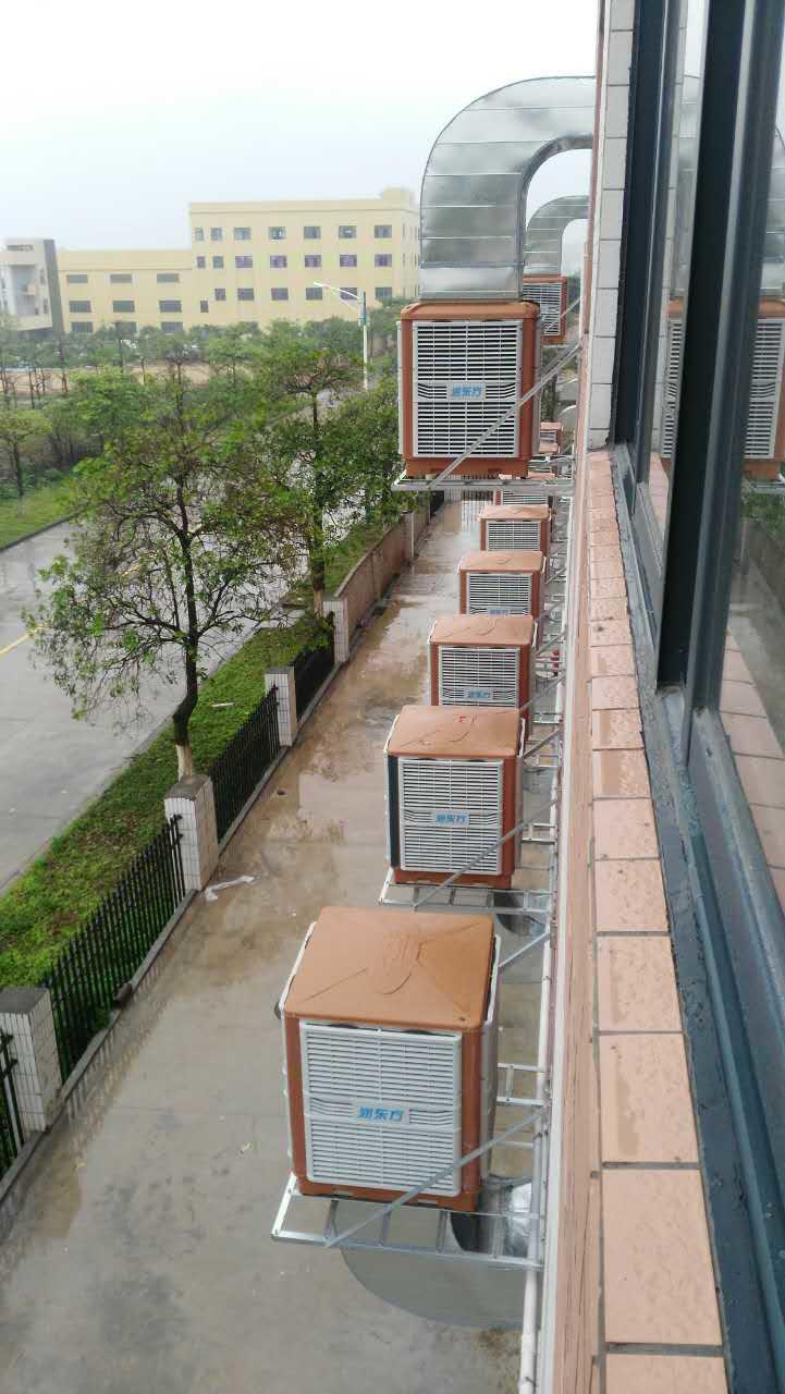 深圳德海威廠房降溫案例
