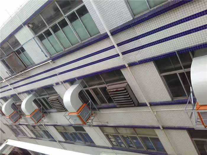 柏雅車間降溫室外機圖片