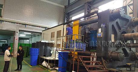 潤東方環保空調外殼生產注塑機