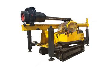 履帶柴油錘夯樁機