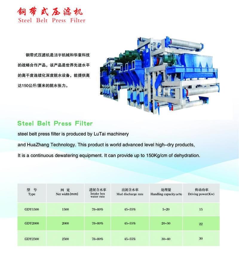 钢带式压滤机1