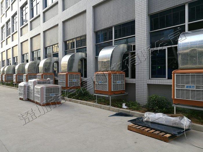 環保空調廠房降溫案例