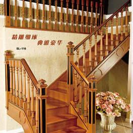 实木楼梯004