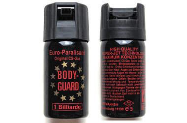 美国进口BODY-GUARD防暴辣椒喷雾剂