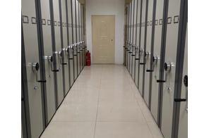 內蒙古商業銀行手動檔案密集架安裝案例展示