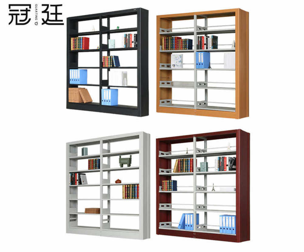 木护板图书架