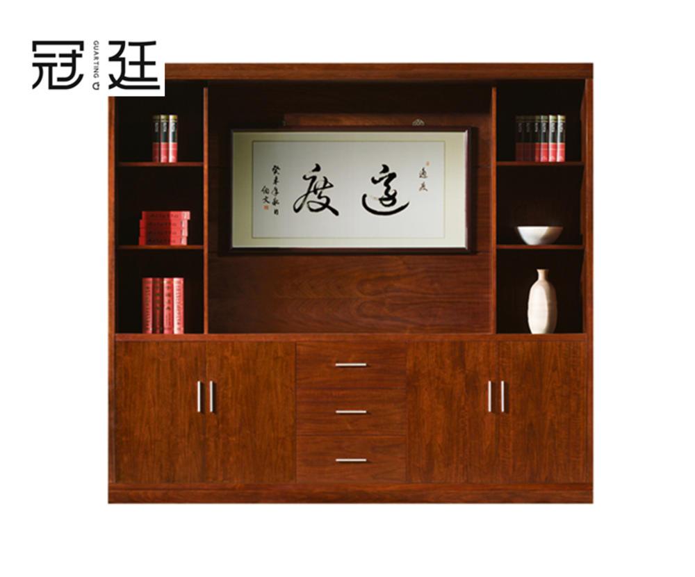 实木油漆文件柜
