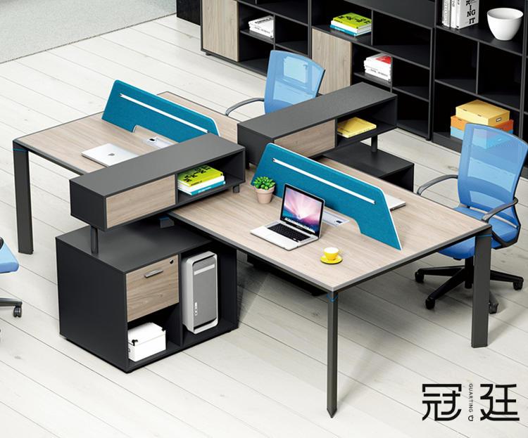 现代职员办公桌