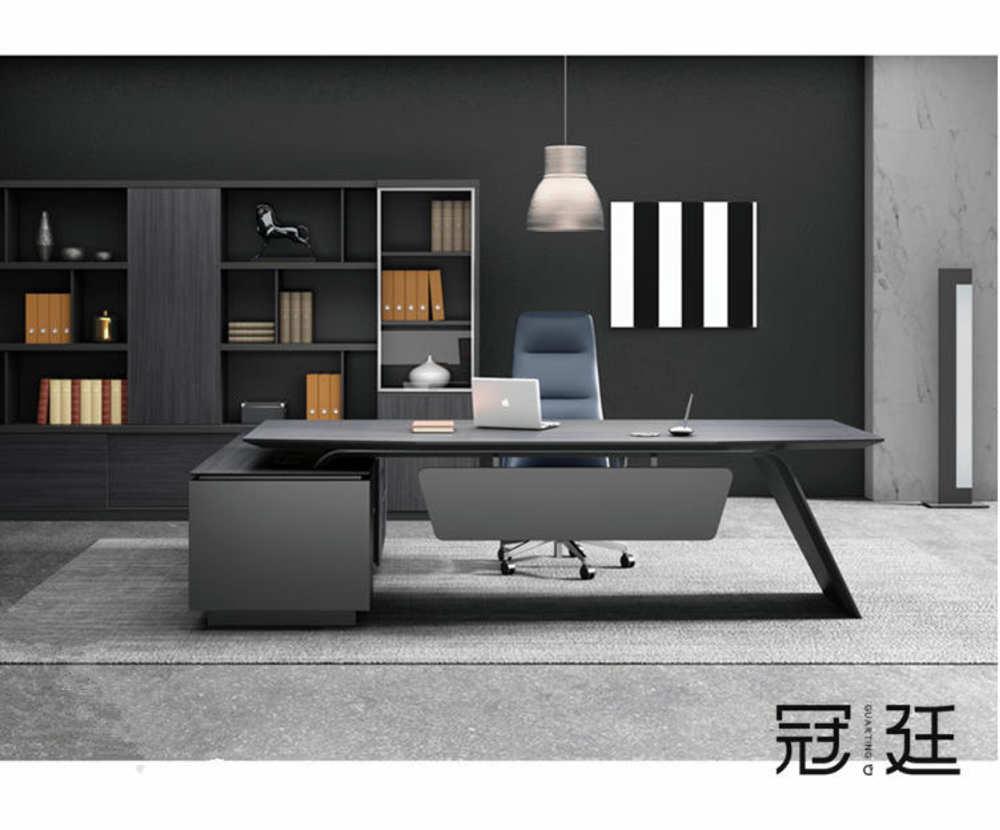 現代時尚大班臺辦公桌