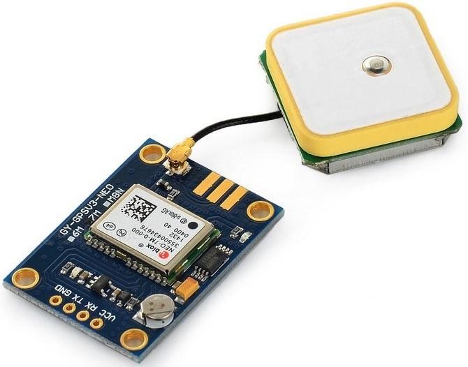 使用Arduino开发板连接NEO-6M GPS模块 的方法