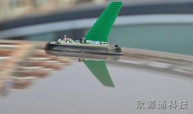 日产汽车的天线为什么那么长?