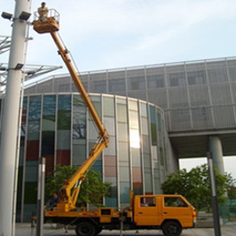 升降車出租用于路燈維修