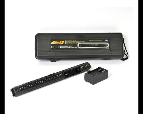 黑鹰X8超级合金锂电电击棍
