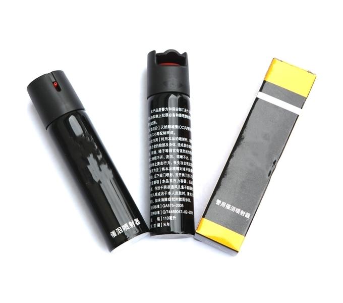 黑皮防身催泪器