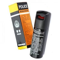 警用60ml防暴催泪瓦斯/防狼喷雾器/警用辣椒水/催泪喷射器