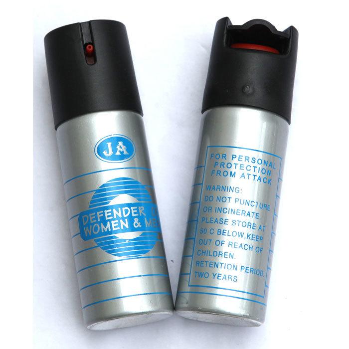 银色JA型催泪喷雾剂