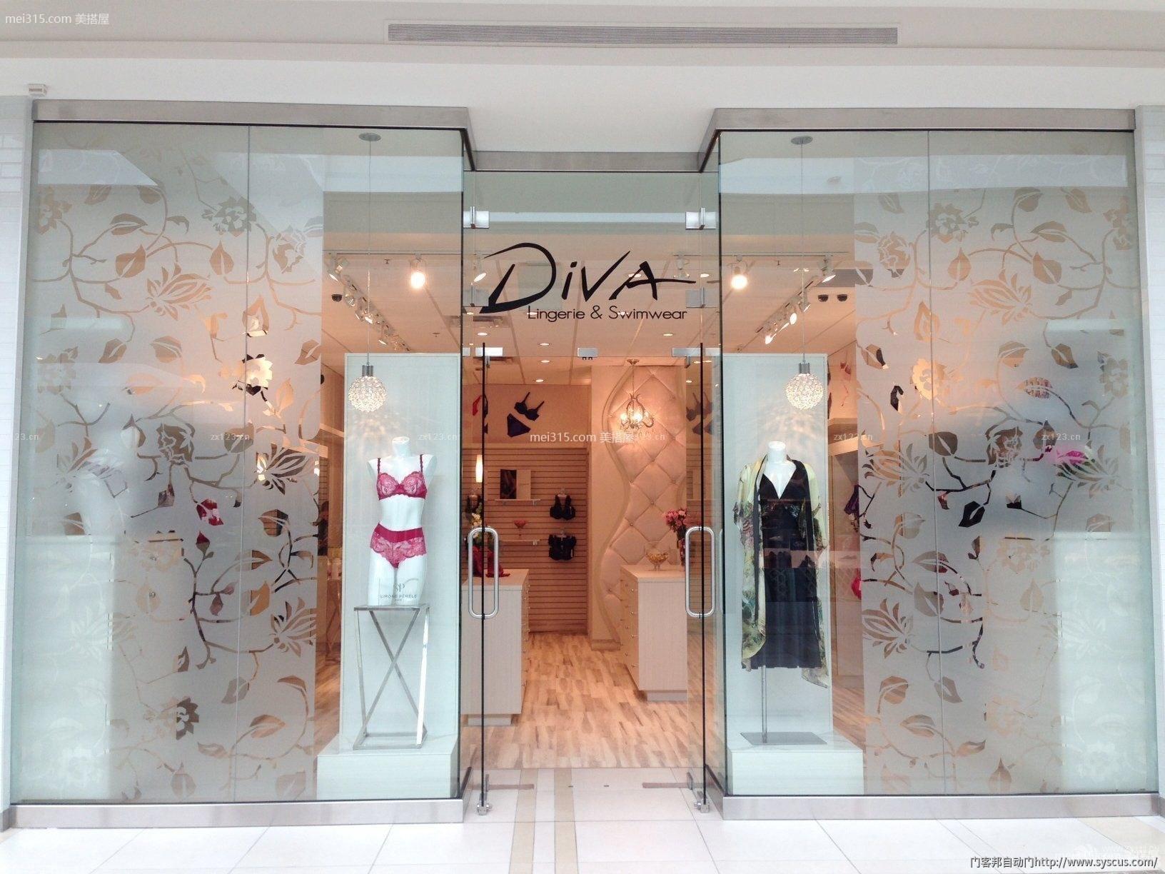 店面装个玻璃门多少钱 店面玻璃门多少钱一平