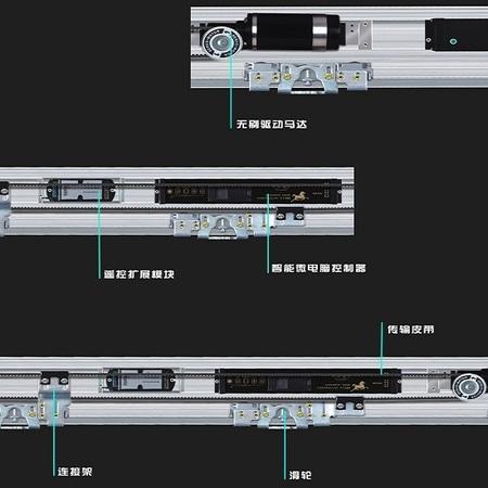 贺多龙FT600自动门