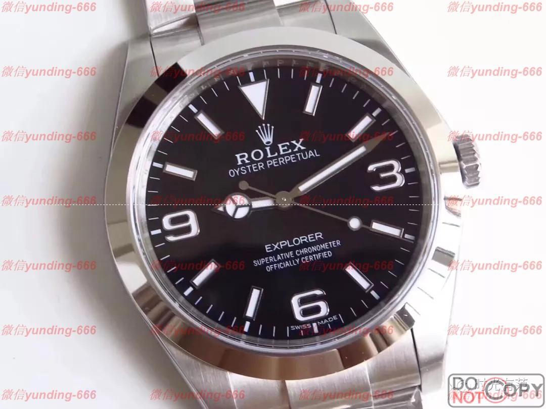 AR厂(JF厂高端厂家)904L精钢劳力士探险家一代214270系列腕表