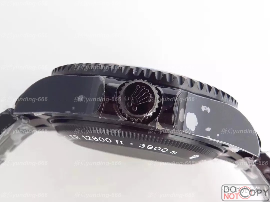 金诚评测VR厂劳力士海使型定制版红魔黑鬼王腕表详解