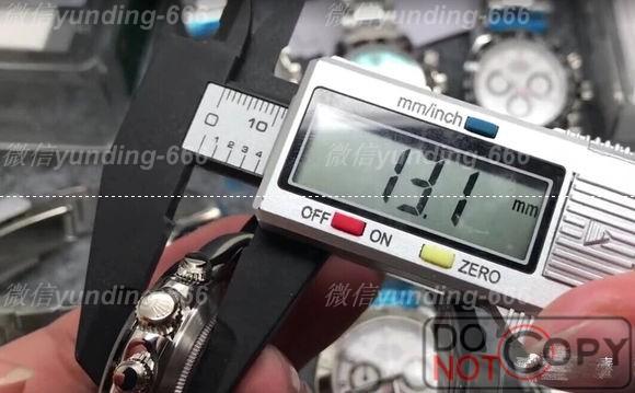 N厂迪通拿熊猫款【神器】904L精钢搭载复刻cal.4130机芯-AR厂JF厂对比评测