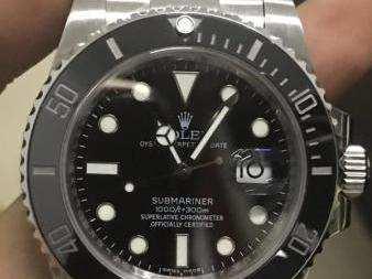 n厂v7水鬼手表 符合现代人对个性的追求