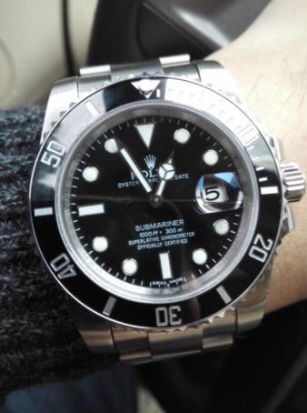 手表n厂水鬼 可以选择配置三种机芯